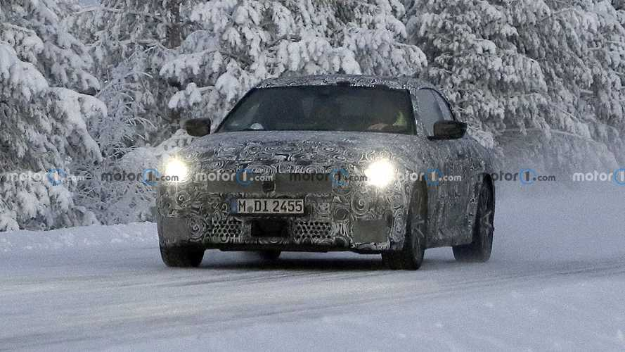 2022 BMW 2 Series Coupe spied near the Arctic Circle