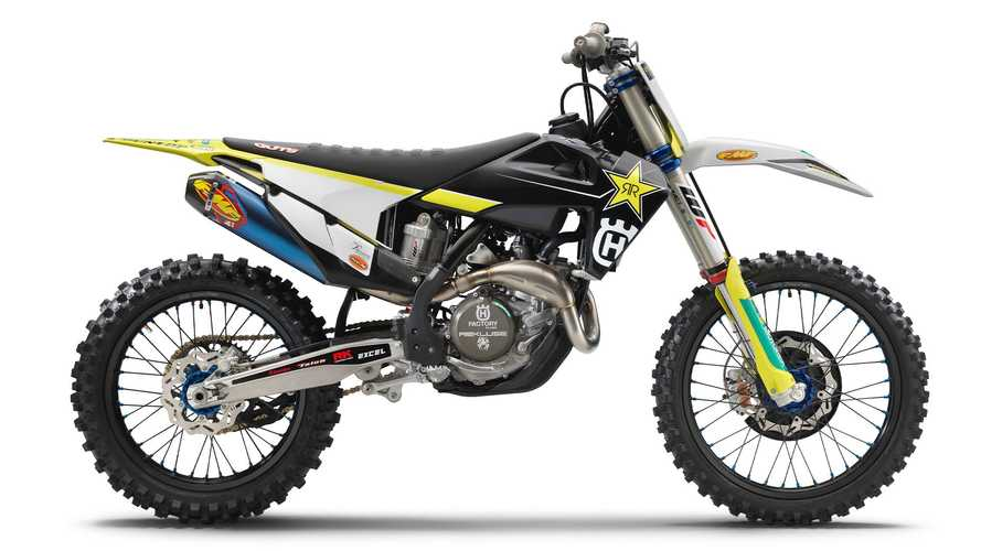 Husqvarna FC 450 Rockstar Edition Gets Wardrobe Change For 2021