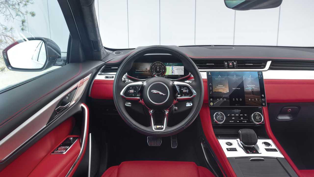 Novo Jaguar F Pace 2021 Muda Interior E Ganha Versoes Eletrificadas