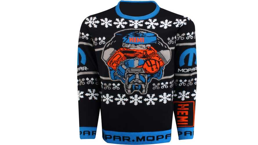 Mopar Hemi Ugly Holiday Sweater Could Be The Best And Worst Gift