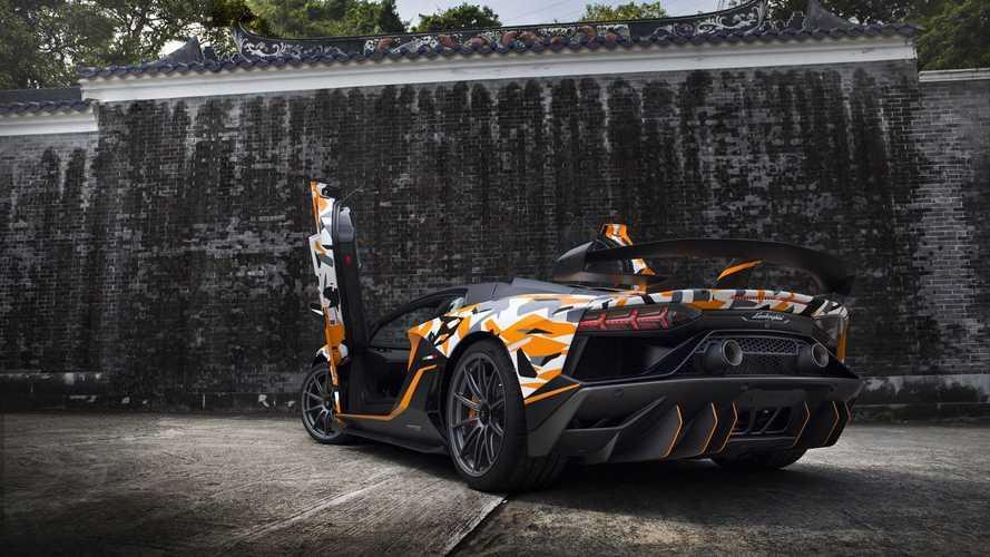 Une Lamborghini Aventador SVJ spéciale pour un client Hongkongais