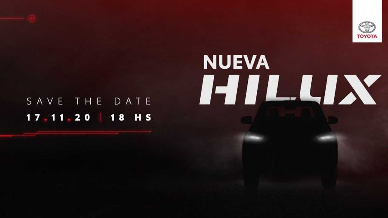 Toyota Hilux 2021 - Teaser