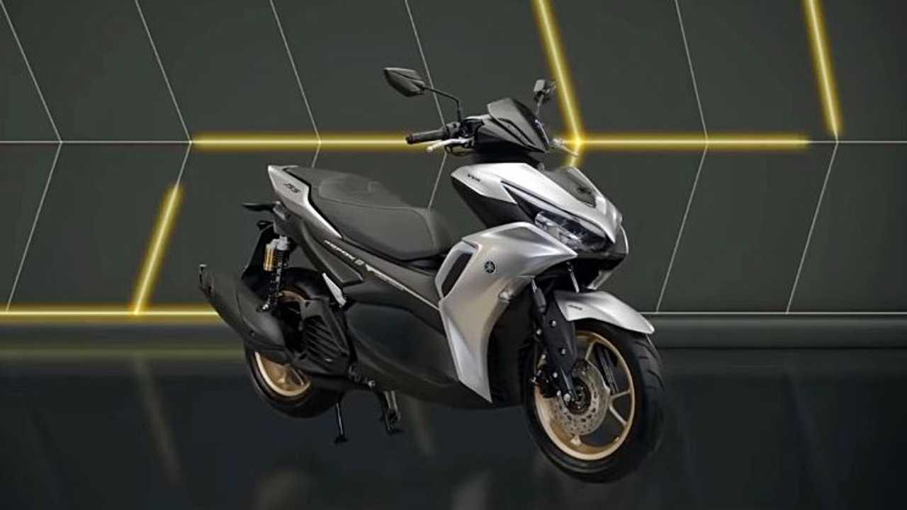 New Yamaha Aerox 155 Connected