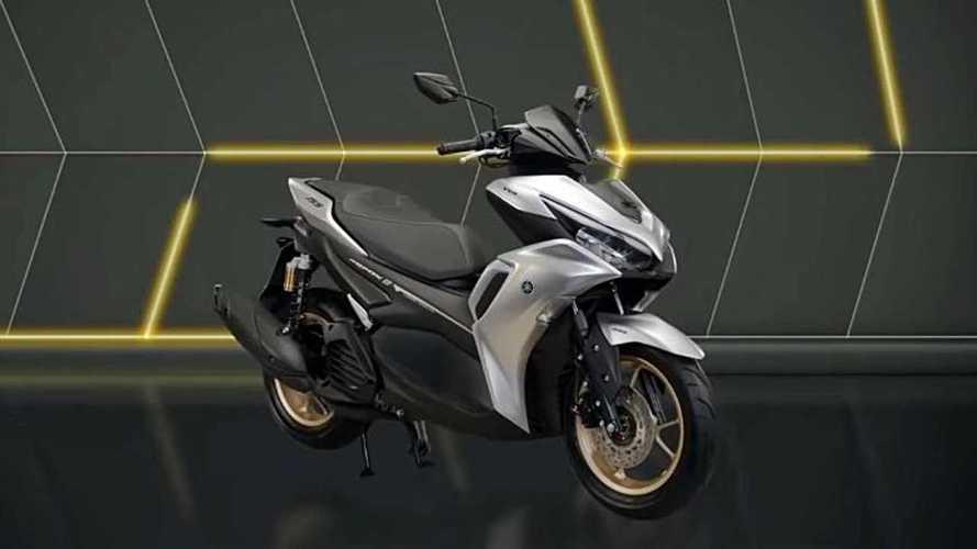 Yamaha Perkenalkan Model Baru Skutik Aerox 155 Connected