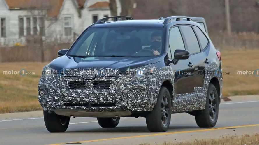 2022 Subaru Forester Refresh Spy Photos