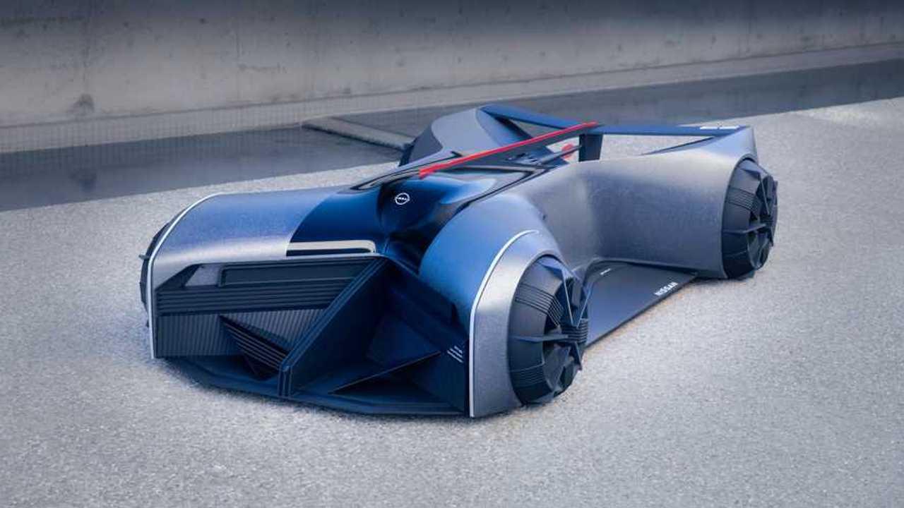Nissan GT-R (X) 2050 Concept