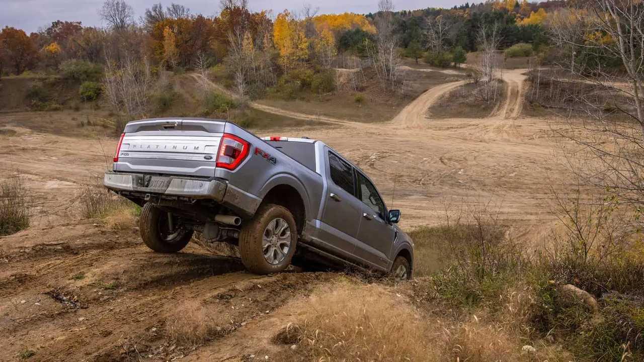 2021 Ford F-150 off-road rear quarter