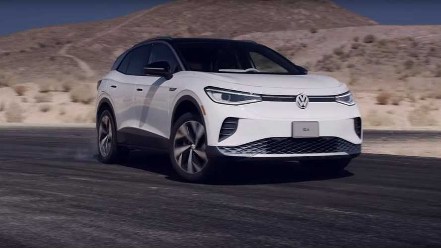 SUV elétrico Volkswagen ID.4 é levado ao limite em pista - vídeo
