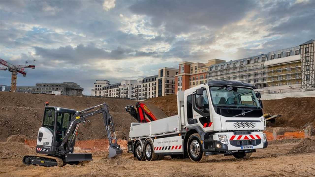 Volvo camion e mezzi da lavoro elettrici