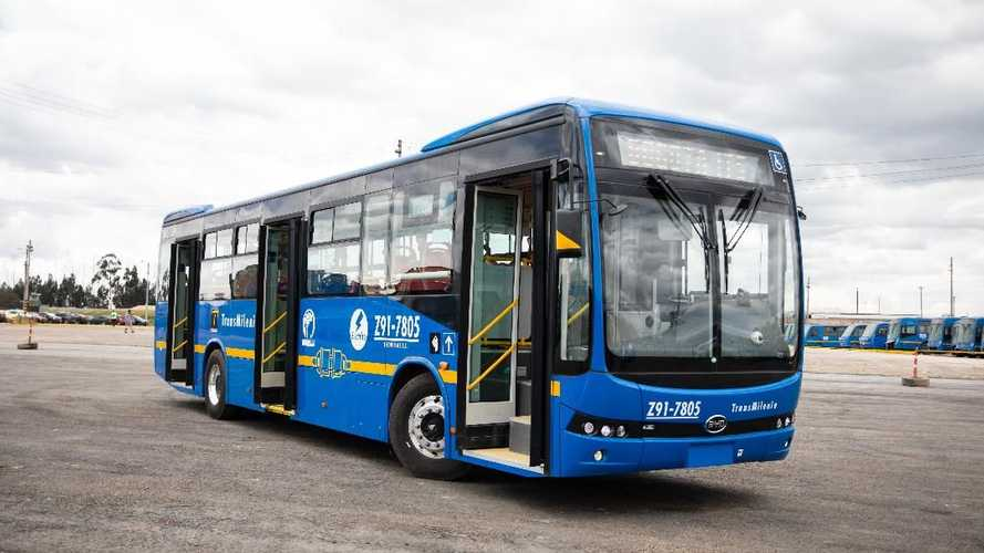 Colombia: BYD Wins Cumulative Orders To Supply 1,002 EV Buses