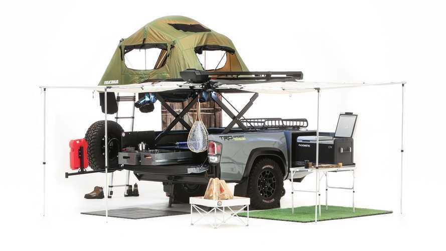 Toyota TRD Sport trailer, il rimorchio per chi ama il campeggio libero