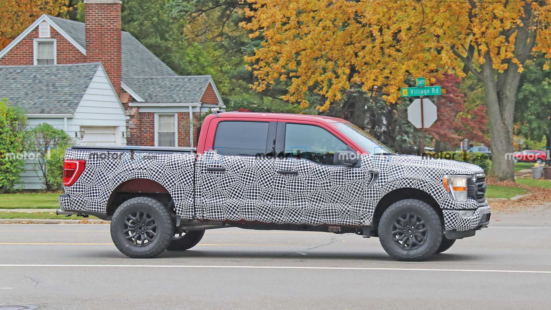 Ford F-150 Tremor Spy Photos Show Off Rugged Pickup ...
