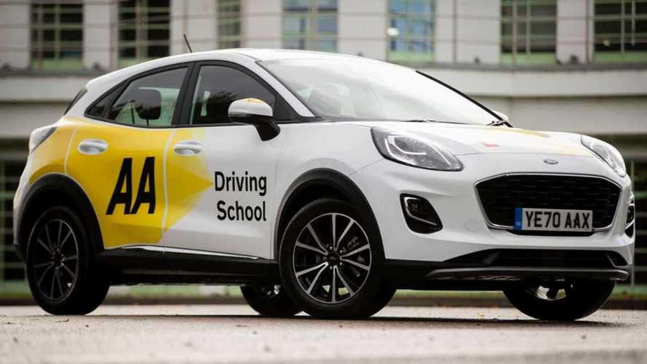 AA Driving School Ford Puma