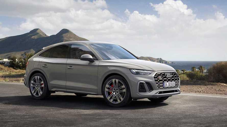 Audi SQ5 Sportback TDI, sportiva diesel e un po' coupé