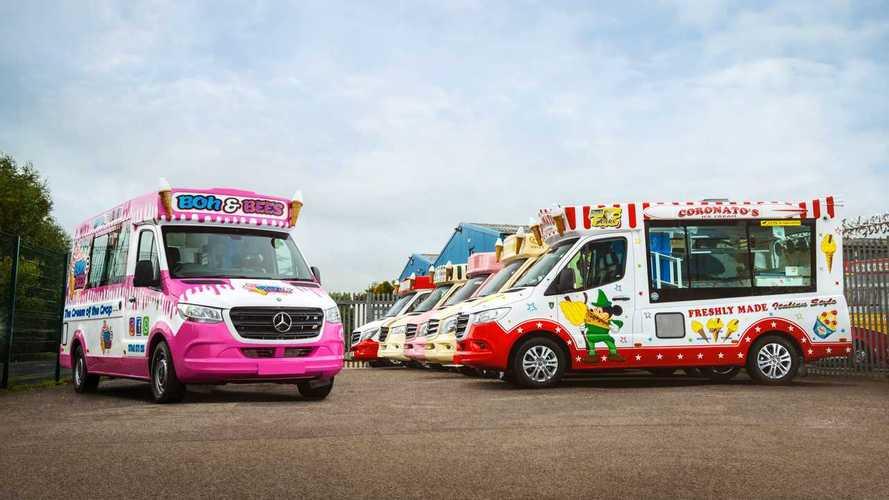 Mercedes Sprinter, Il furgone dei gelati