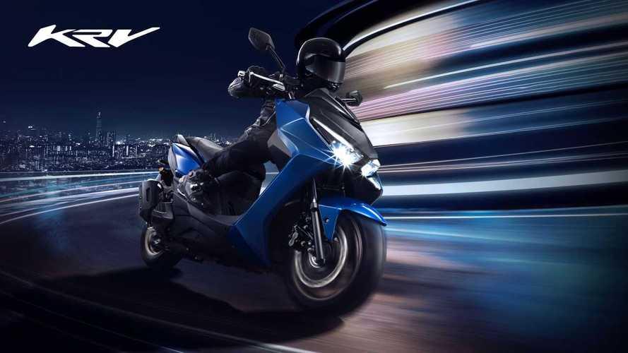 Kymco KRV, lo scooter sportivo con il forcellone derivato dalle moto