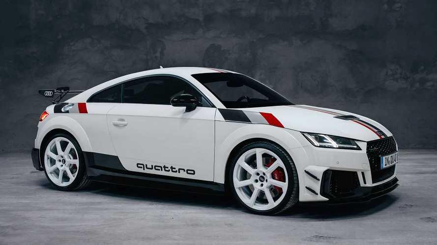 L'Audi TT RS celebra i 40 anni della trazione quattro