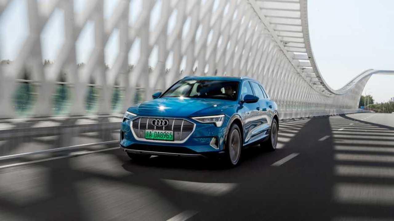 Audi e-tron in China