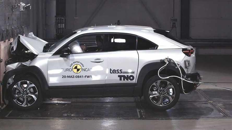 Euro NCAP Crash & Safety Tests of Mazda MX-30 2020