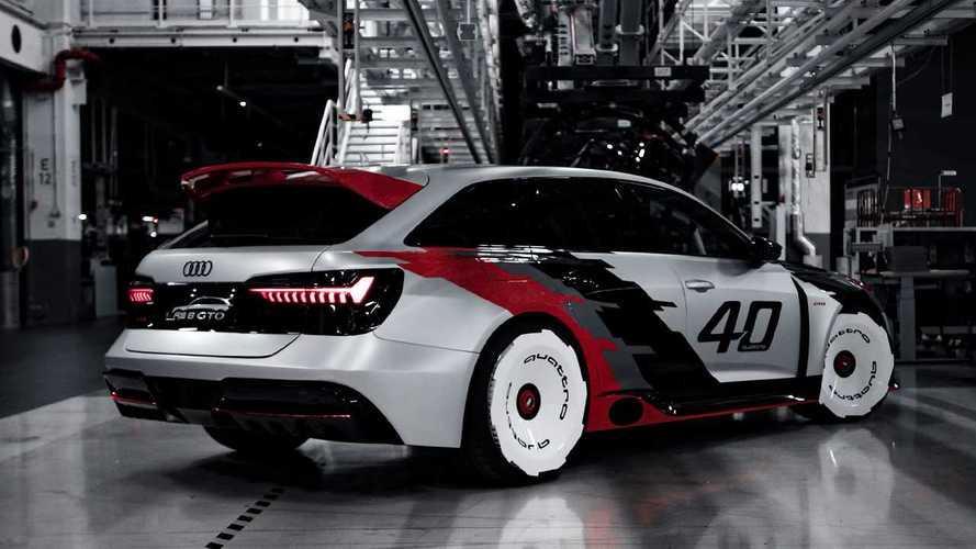Vídeo del exclusivo Audi RS6 GTO, un verdadero sueño
