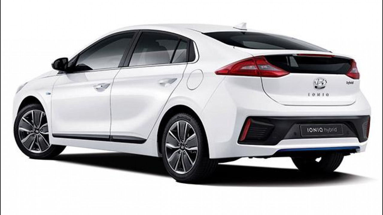 [Copertina] - Hyundai Ioniq, prime foto dell'ibrida