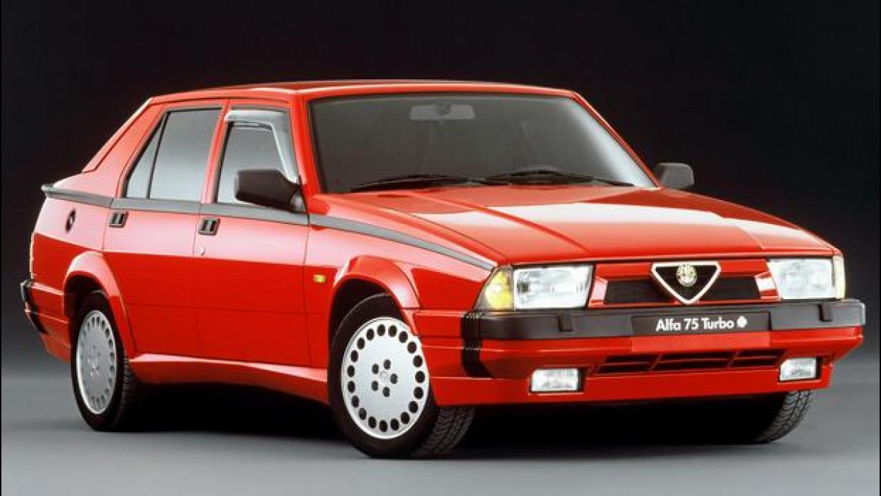 [Copertina] - Alfa Romeo 75, trazione posteriore all'antica