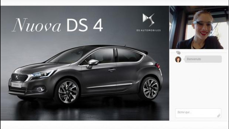 DS 4 si scopre in una live chat nel Virtual Showroom