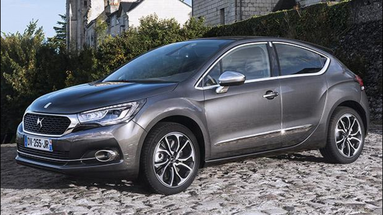 [Copertina] - DS 4 BlueHDi 100, entry level di lusso