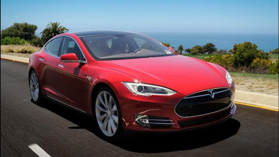 Tesla Model S, il car sharing diventa elettrico