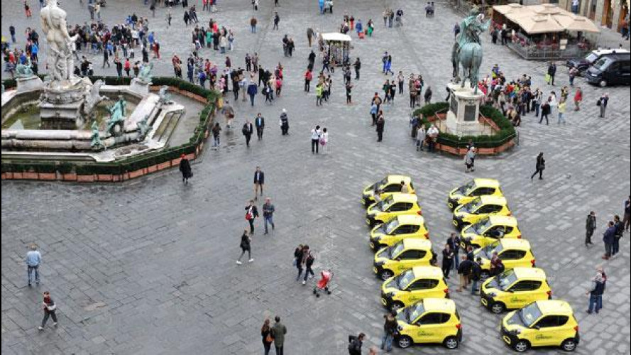 Car sharing, Share'ngo ora è anche a Firenze