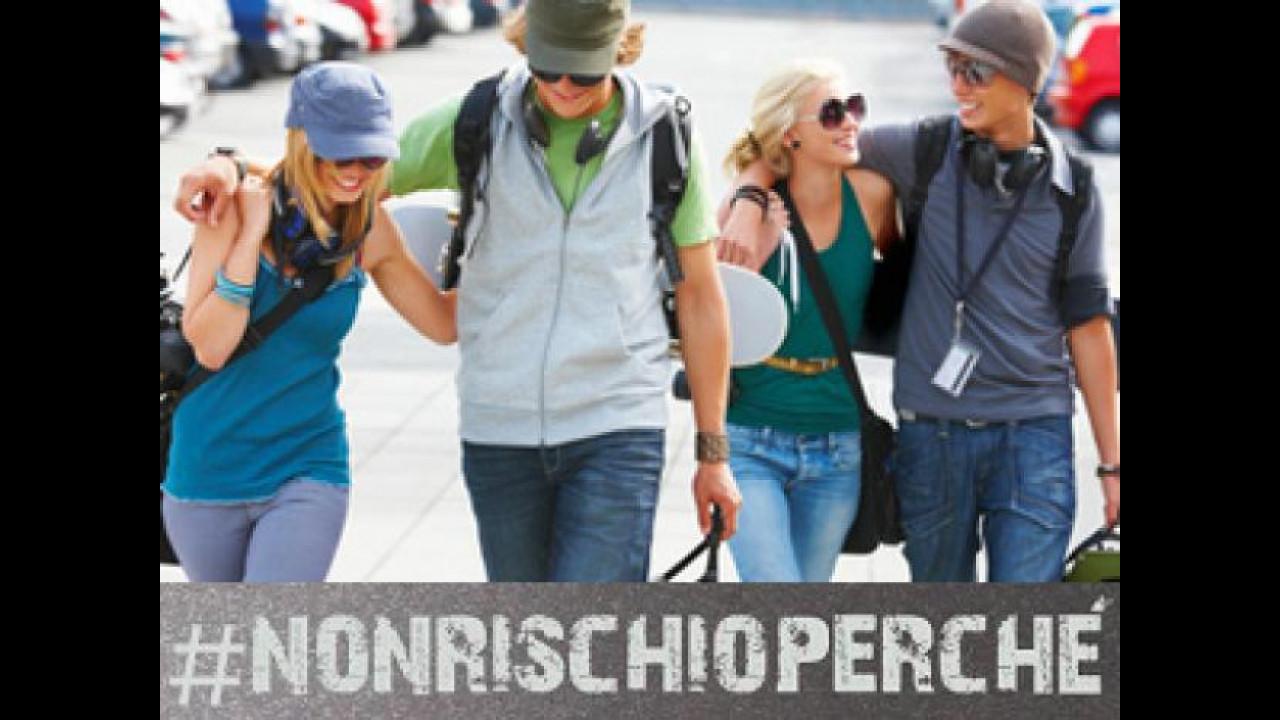 [Copertina] - #nonrischioperché è l'hashtag per la sicurezza stradale