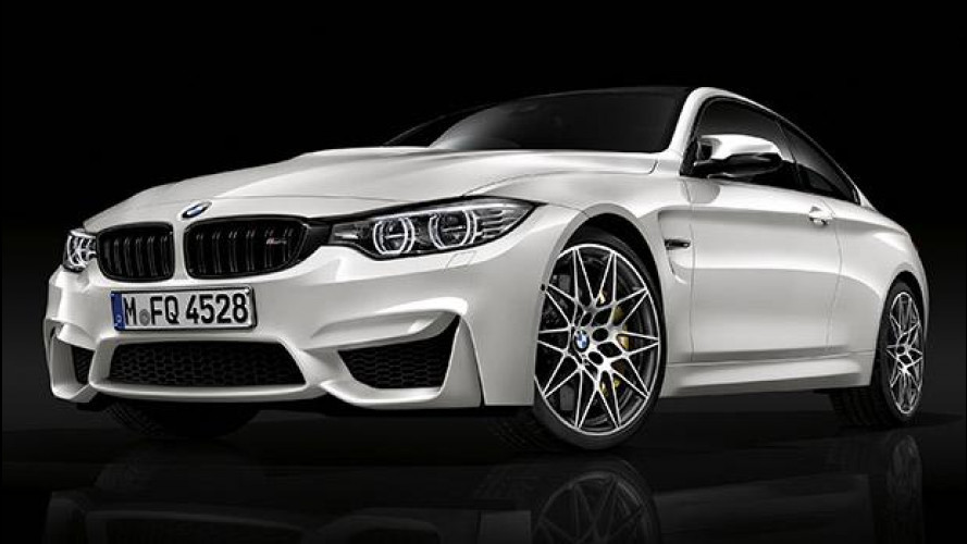 BMW M3 ed M4 Competition Package, un po' di pepe in più