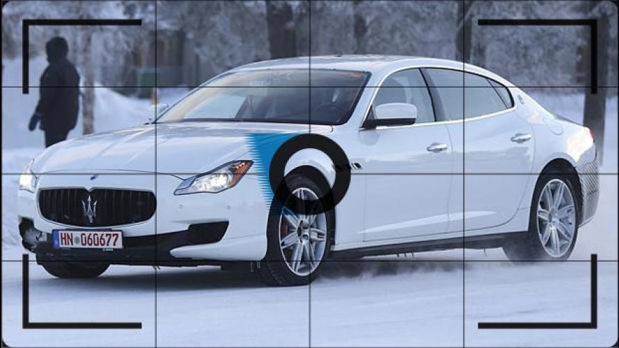 Maserati Quattroporte, prime foto del restyling