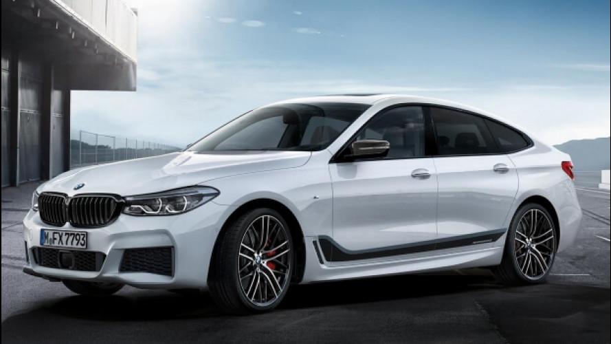 """BMW Serie 6 GT, più """"cattiva"""" con il pacchetto M Sport"""
