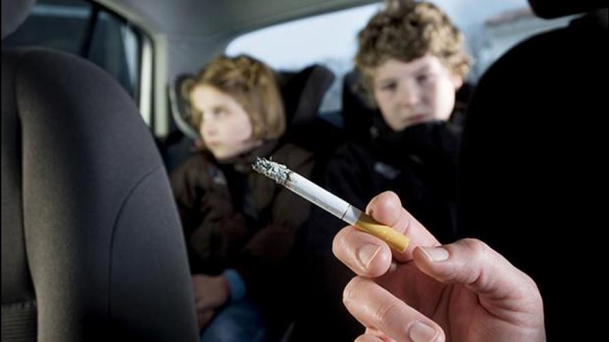 Divieto di fumo in auto, quando scatta e cosa comporta