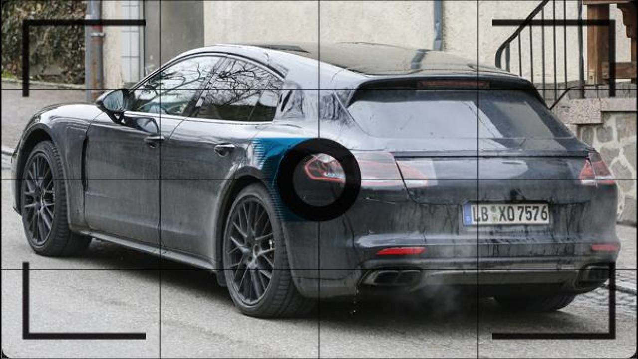 [Copertina] - Porsche Panamera Shooting Brake, le foto spia