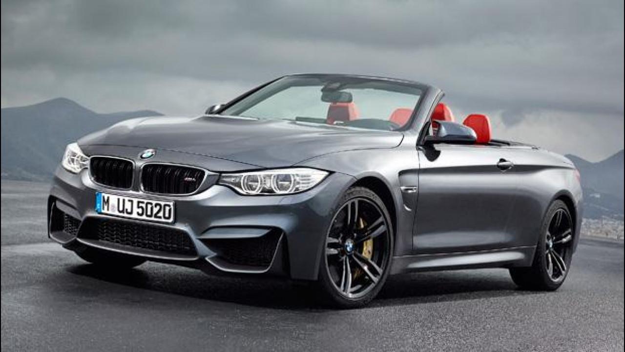[Copertina] - BMW M4 Cabrio, potenza a cielo aperto