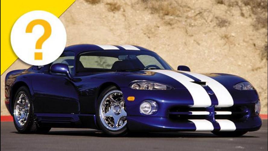Il V10 della Viper nasceva da un pick-up