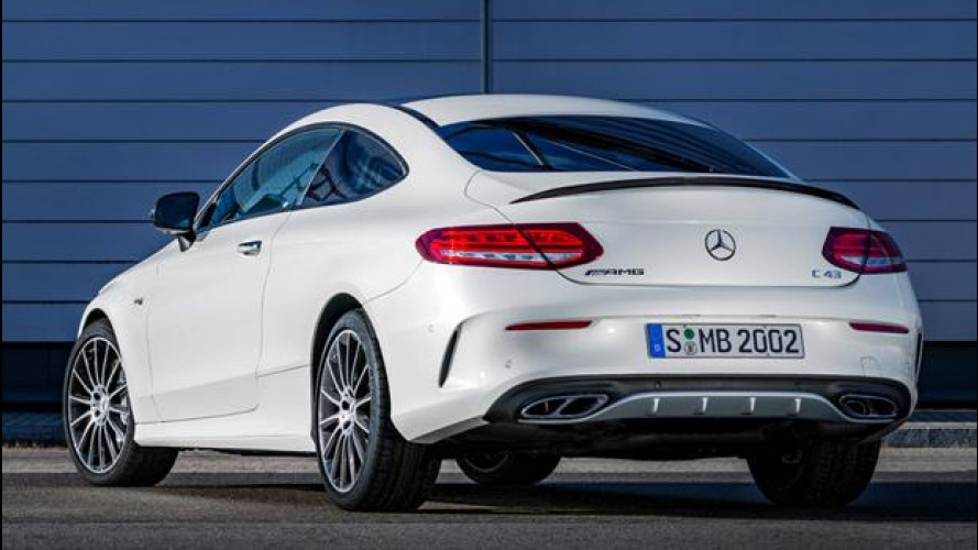 Mercedes-AMG C 43 4MATIC, Coupé da 367 CV [VIDEO]