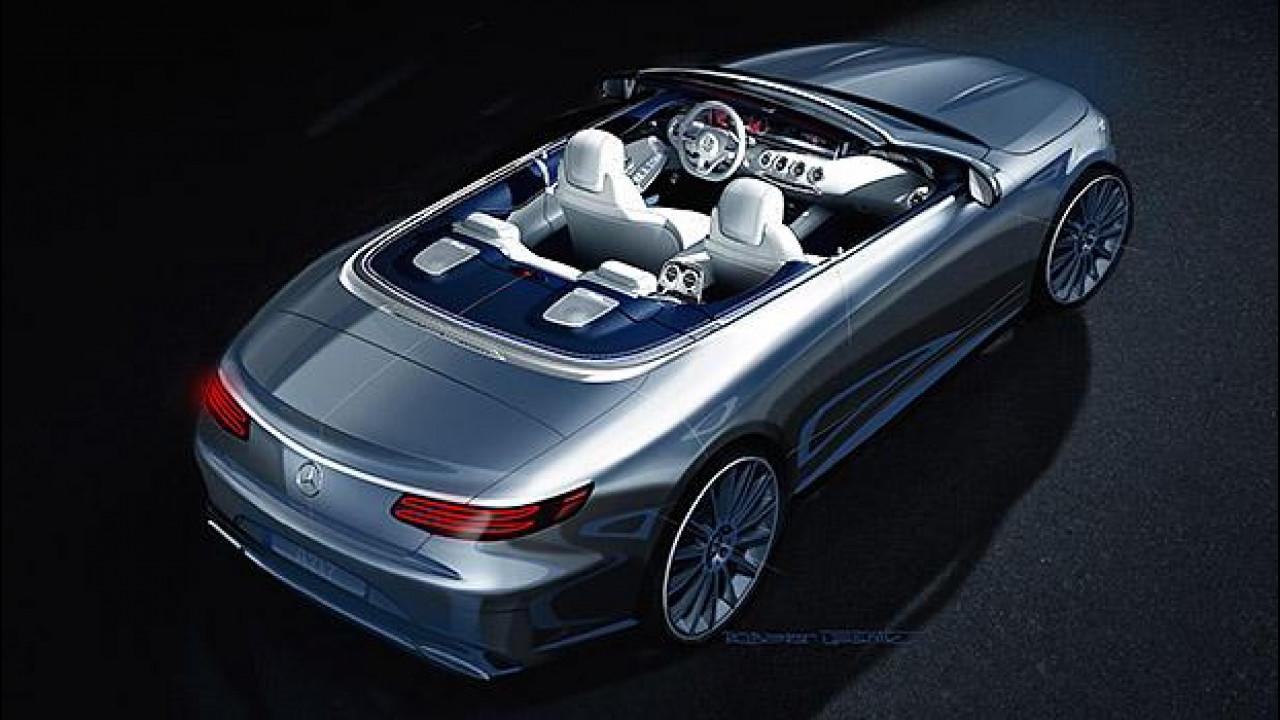 [Copertina] - Mercedes Classe S Cabriolet, l'ammiraglia scoperta