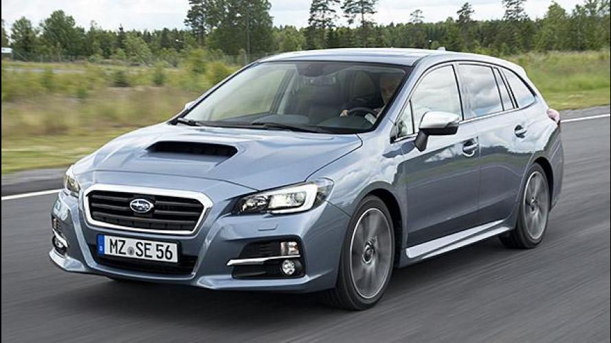 Subaru Levorg: non chiamatela Legacy