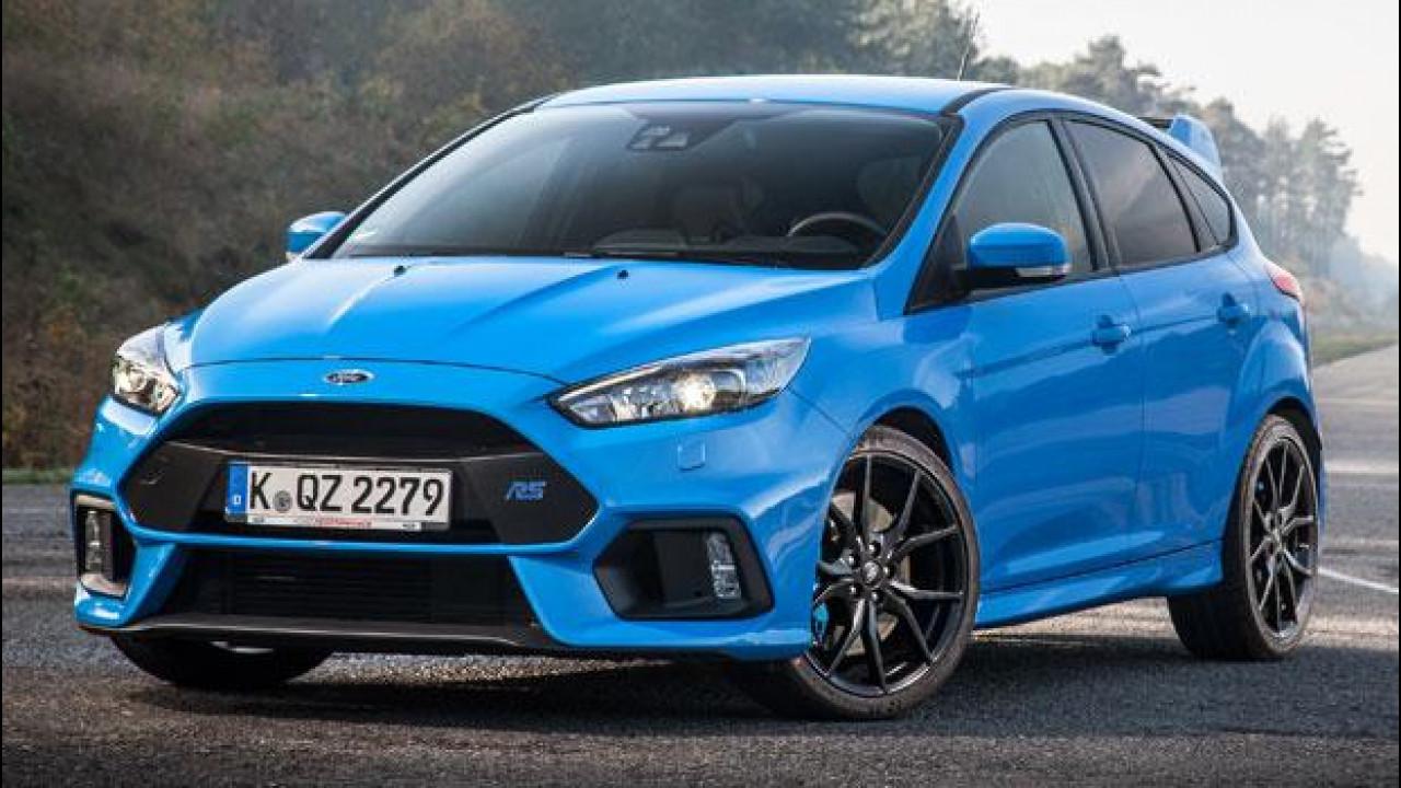 [Copertina] - Ford Focus RS sarà gommata Michelin