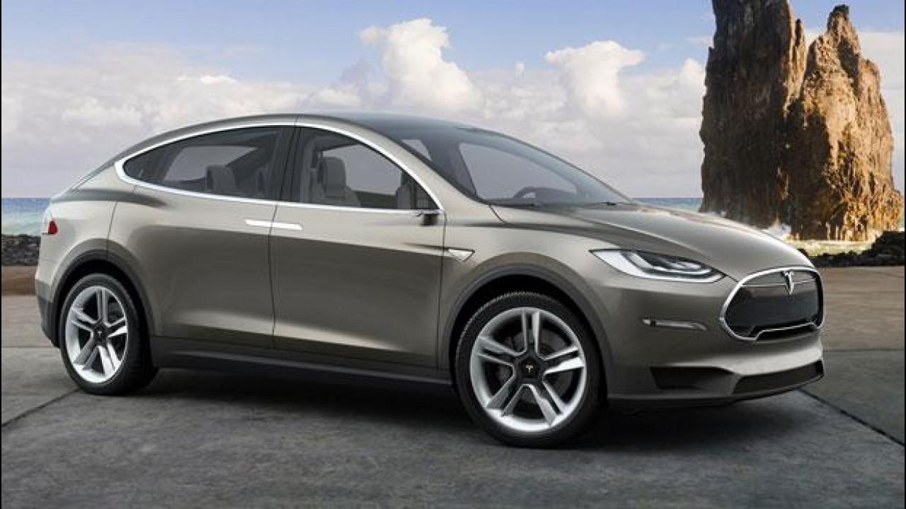[Copertina] - Tesla Model X, a fine mese le prime consegne