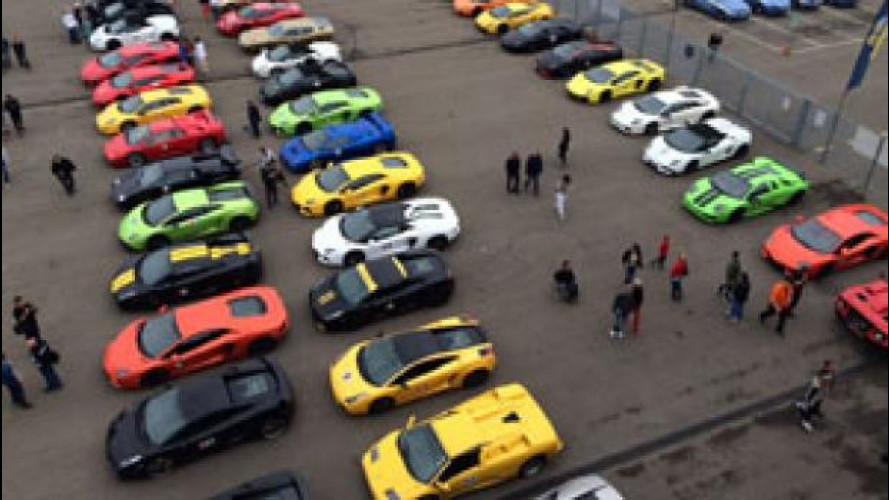 Lamborghini Tribute, il saluto a Ferruccio