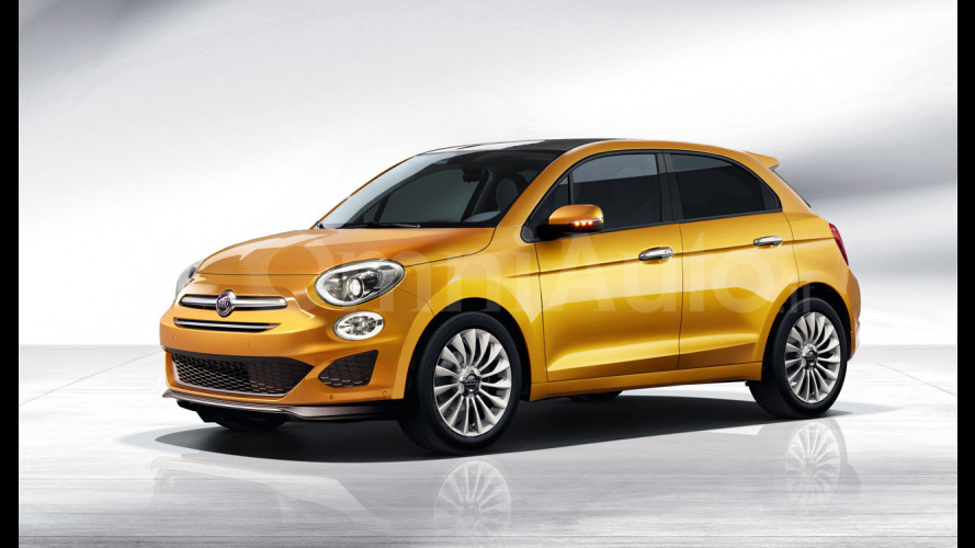 Fiat 500, ecco come potrebbe essere la 5 porte