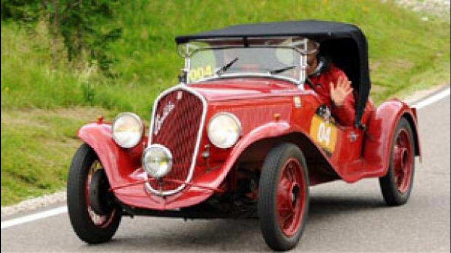 Coppa d'Oro delle Dolomiti, vince la Fiat 508 S Balilla