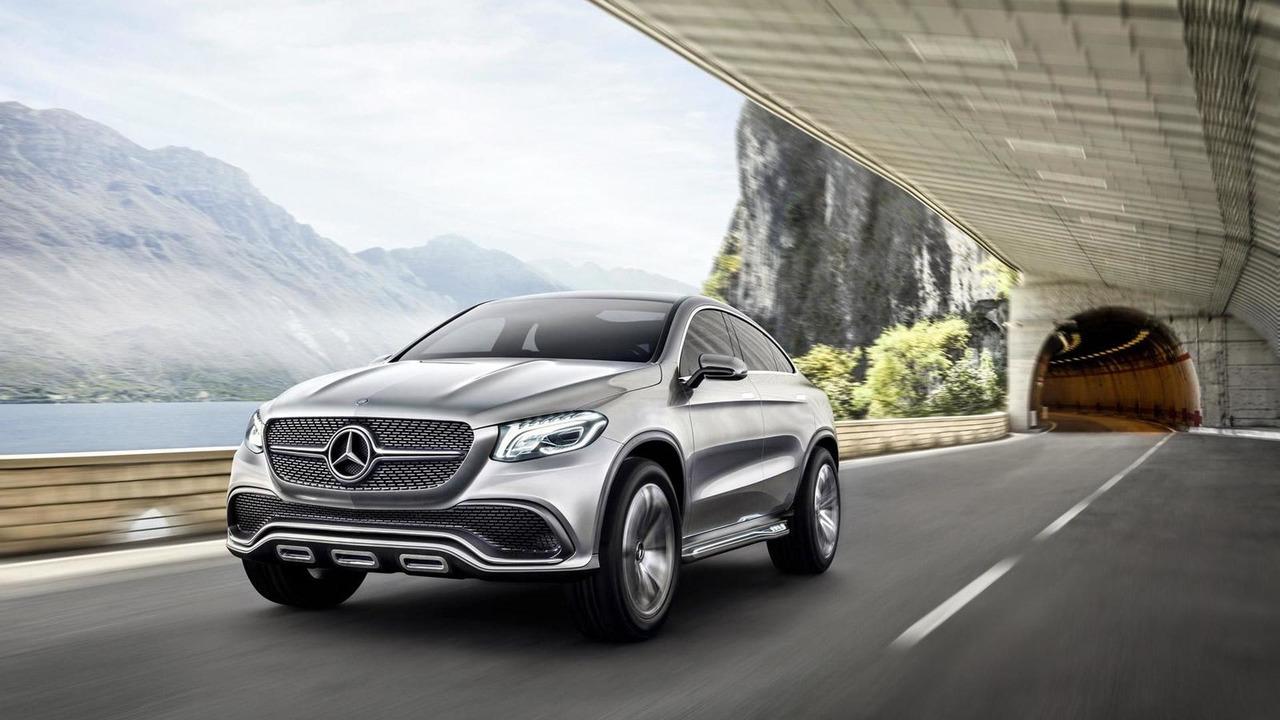 Mercedes-Benz Concept Coupe SUV