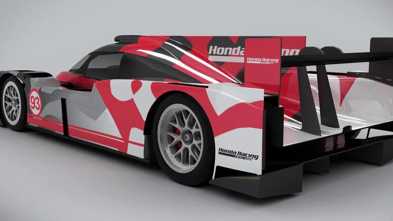 Honda Performance Development Arx 04b Lmp2 Coupe