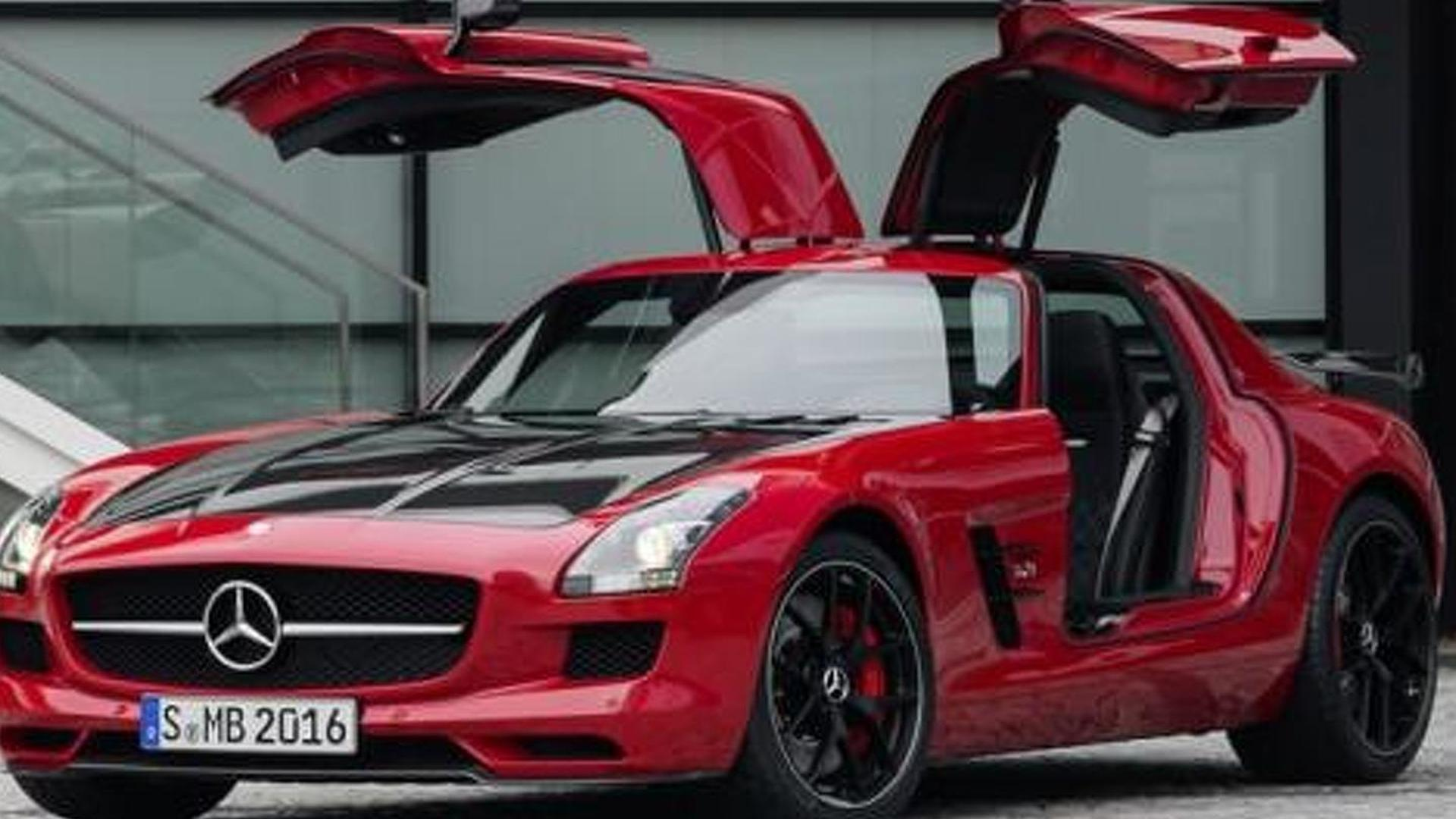 2014 Mercedes Benz Sls Amg Gt Final Edition Breaks Cover