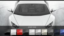 Lamborghini Huracan LP610-4 configurator